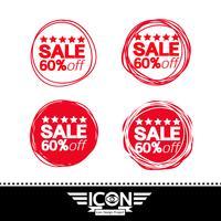 försäljning ikon symbol tecken