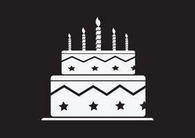Födelsedagstårta ikon