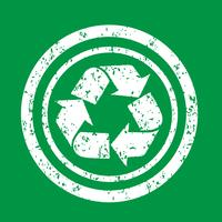 Återvinn tecken symbol tecken