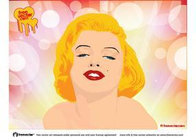 Marilyn Monroe Vektor