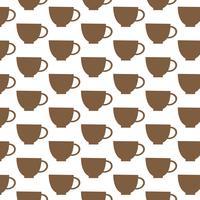 Cup Muster Hintergrund