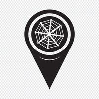 Map Pointer Web net-Symbol