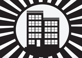 Hemikon och fastighetskoncept