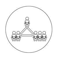 Baby-Icon-Netzwerk