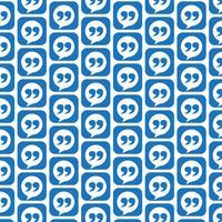 Mönster bakgrund Blockquote teckenikon