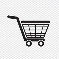 Shopping Symbol Symbol Zeichen