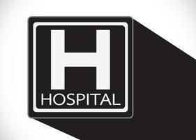 Illustration av sjukhusikonen