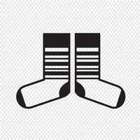 Sock ikon symbol tecken