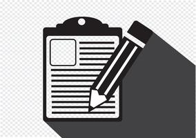 Checklisten-Symbol Symbol Zeichen