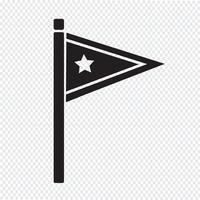 Flaggensymbol Symbol Zeichen