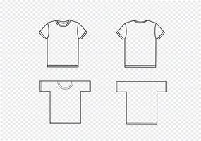 t-shirt designmallar vektor