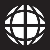 Globe jorden ikon vektor