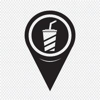 Kartenzeiger Drink Icon