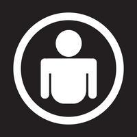 Person Symbol Symbol Zeichen