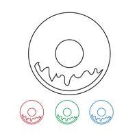 Donut-Symbol Symbol Zeichen