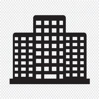 Kontorsbyggnadsikon