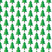 Muster Hintergrund Weihnachtsbaum-Symbol