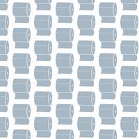 Toilettenpapier Hintergrundmuster vektor