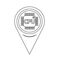 Map Pointer CPU-Symbol