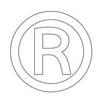 Eingetragenes Warenzeichen-Symbol