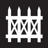 staket ikon symbol tecken