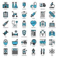 Gesundheitswesen und Medizin vektor
