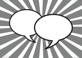 Sprechblasen Symbol Zeichen