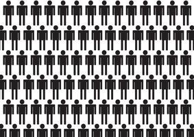 Piktogrammleute Mann-Ikonen-Zeichen-Symbol-Piktogramm