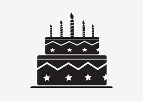Geburtstagstorte-Symbol