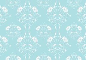 Robin Ei Blue Damast Vektor Muster