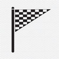 flagga ikon symbol tecken