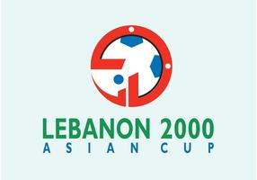 Asian Cup Libanon vektor