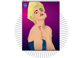 Madonna vektor