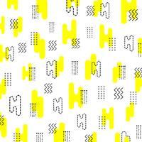 minimal hipster mönster vektor