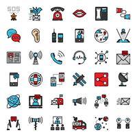 Kommunikationsentwicklungs-Symbol