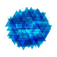 abstrakt triangelbakgrund vektor