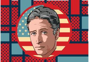 Jon Stewart Vektor