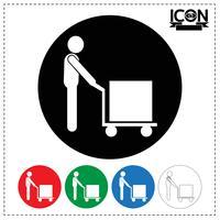 Man Moving Box-ikonen