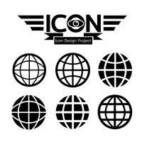 Globe Symbol Symbol Zeichen vektor