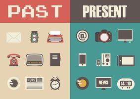 Retro und moderne Technologie