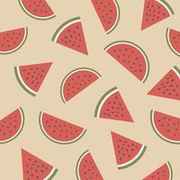Retro Wassermelonenmuster