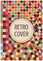 retro flerfärgad täcka