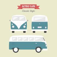 Retro klassischer Packwagen