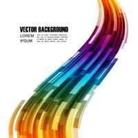 abstrakt färgglad bakgrund vektor