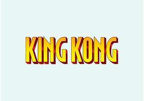 King Kong vektor