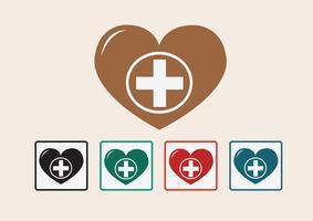 Herz medizinische Symbol