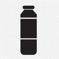 Flaschensaft-Symbol vektor