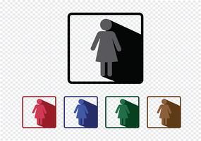 Piktogram Människors ikoner för mobila webbapplikationer och folketecken vektor