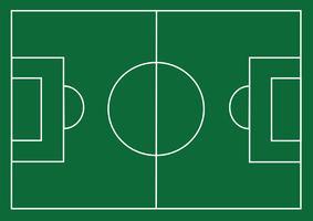 Strukturierte Rasenfläche des Fußballplatzes oder des Fußballs