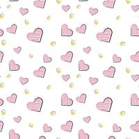 Vector sömlösa mönster av planelement. Romantik, kärlek, bröllop